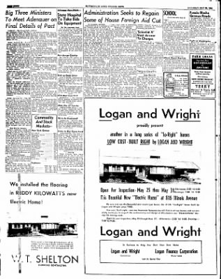The Courier News from Blytheville, Arkansas on May 24, 1952 · Page 8