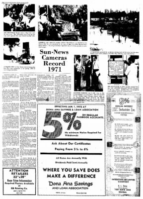 Las Cruces Sun-News from Las Cruces, New Mexico on January 2, 1972 · Page 14