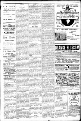 Logansport Pharos-Tribune from Logansport, Indiana on March 6, 1891 · Page 3