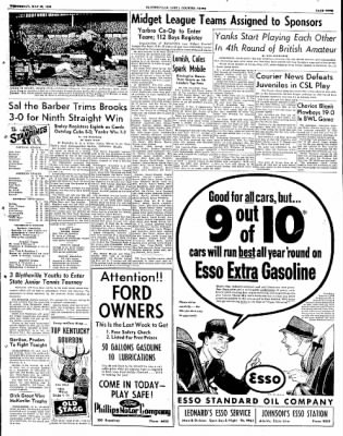 The Courier News from Blytheville, Arkansas on May 28, 1952 · Page 9