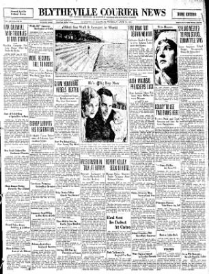 The Courier News from Blytheville, Arkansas on April 23, 1931 · Page 1