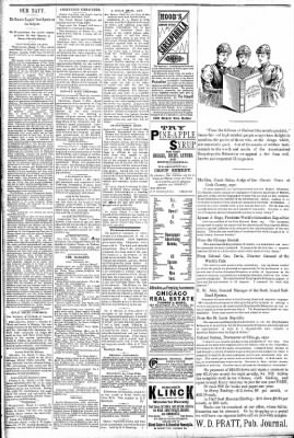 Logansport Pharos-Tribune from Logansport, Indiana on March 8, 1891 · Page 2