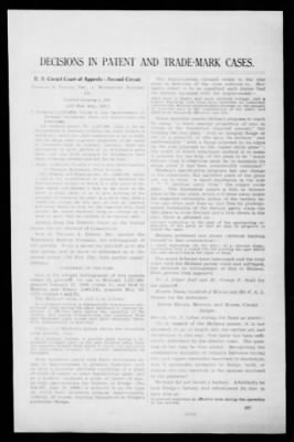 Official Gazette of the United States Patent Office from Washington, District of Columbia on January 22, 1924 · Page 3