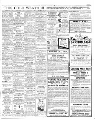 The Mason City Globe-Gazette from Mason City, Iowa on February 25, 1936 · Page 15