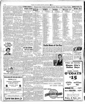 The Mason City Globe-Gazette from Mason City, Iowa on January 21, 1937 · Page 2