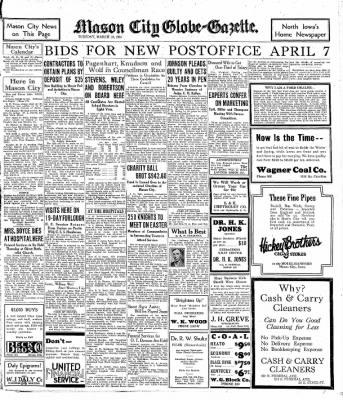 The Mason City Globe-Gazette from Mason City, Iowa on March 10, 1931 · Page 11