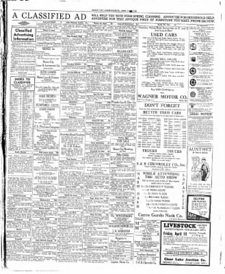 The Mason City Globe-Gazette from Mason City, Iowa on April 8, 1936 · Page 11