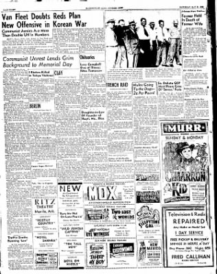 The Courier News from Blytheville, Arkansas on May 31, 1952 · Page 8