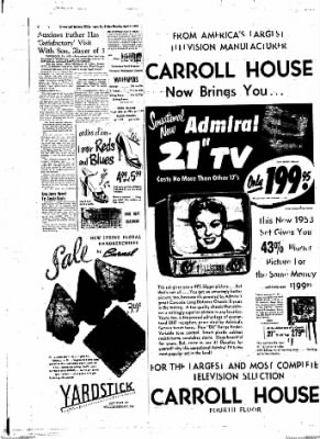 Williamsport Sun-Gazette from Williamsport, Pennsylvania on April 3, 1953 · Page 4