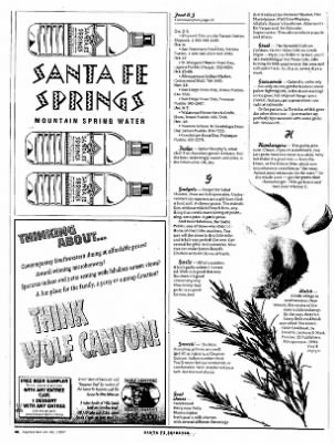 The Santa Fe Reporter from Santa Fe, New Mexico on September 24, 1997 · Page 11