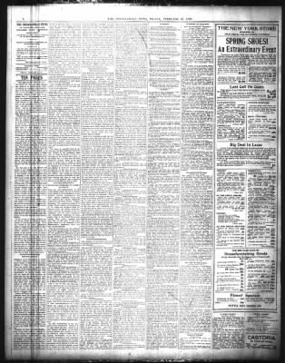 The Indianapolis News from Indianapolis, Indiana on February 25, 1898 · Page 4