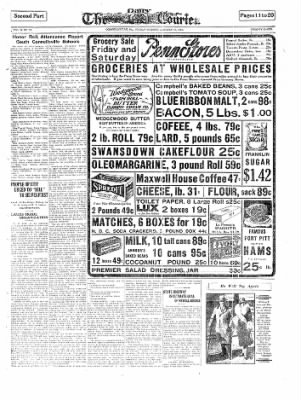 The Daily Courier from Connellsville, Pennsylvania on January 10, 1930 · Page 11