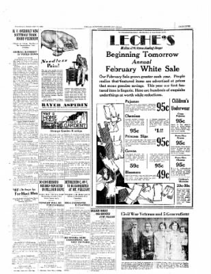 The Daily Courier from Connellsville, Pennsylvania on February 13, 1930 · Page 7