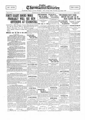 The Daily Courier from Connellsville, Pennsylvania on May 29, 1918 · Page 1