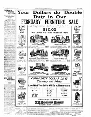 The Daily Courier from Connellsville, Pennsylvania on February 26, 1930 · Page 7