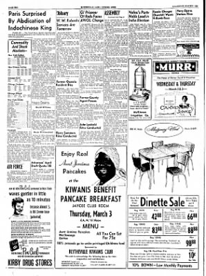 The Courier News from Blytheville, Arkansas on March 2, 1955 · Page 4