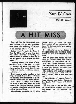 The Ottawa Journal from Ottawa,  on May 30, 1970 · Page 82