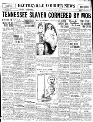 The Courier News from Blytheville, Arkansas on May 18, 1931 · Page 1