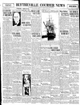 The Courier News from Blytheville, Arkansas on May 22, 1931 · Page 1