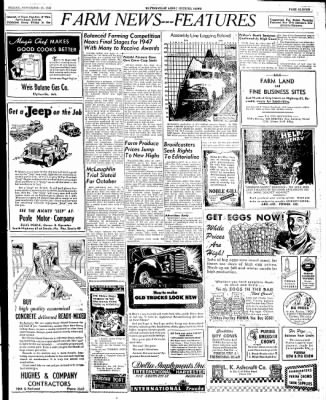 The Courier News from Blytheville, Arkansas on September 19, 1947 · Page 11
