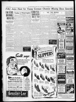 The San Bernardino County Sun from San Bernardino, California on December 18, 1940 · Page 4