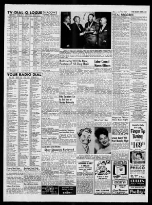 The San Bernardino County Sun from San Bernardino, California on January 20, 1955 · Page 43