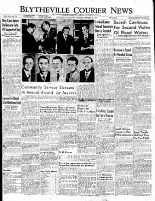 The Courier News from Blytheville, Arkansas on January 21, 1950 · Page 1