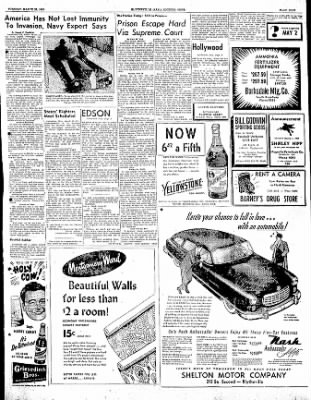 The Courier News from Blytheville, Arkansas on March 28, 1950 · Page 9