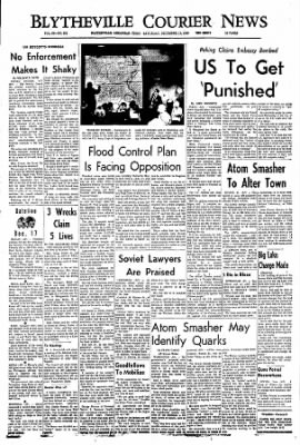 The Courier News from Blytheville, Arkansas on December 17, 1966 · Page 1