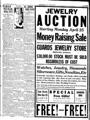The Courier News from Blytheville, Arkansas on April 23, 1932 · Page 3