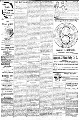 Logansport Pharos-Tribune from Logansport, Indiana on August 1, 1896 · Page 3