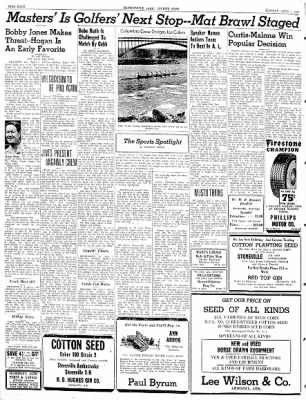 The Courier News from Blytheville, Arkansas on April 1, 1941 · Page 8