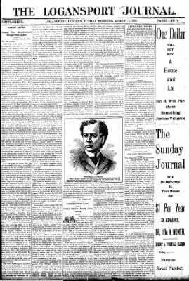 Logansport Pharos-Tribune from Logansport, Indiana on August 2, 1896 · Page 9