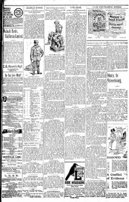 Logansport Pharos-Tribune from Logansport, Indiana on January 11, 1898 · Page 25