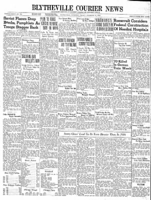 The Courier News from Blytheville, Arkansas on December 22, 1939 · Page 1