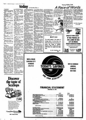 Garden City Telegram from Garden City, Kansas on January 28, 1978 · Page 14