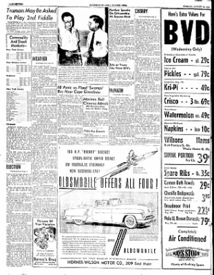 The Courier News from Blytheville, Arkansas on August 12, 1952 · Page 18
