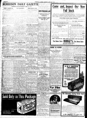 Sterling Standard from Sterling, Illinois on September 28, 1916 · Page 2