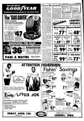 Carrol Daily Times Herald from Carroll, Iowa on April 10, 1974 · Page 13