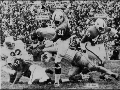 1967 Orduna run vs. Iowa State
