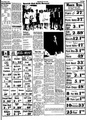 Hope Star from Hope, Arkansas on February 22, 1968 · Page 13