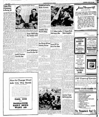 Naugatuck Daily News from Naugatuck, Connecticut on July 17, 1944 · Page 8