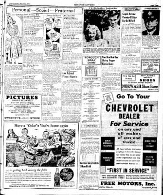 Naugatuck Daily News from Naugatuck, Connecticut on July 19, 1944 · Page 3
