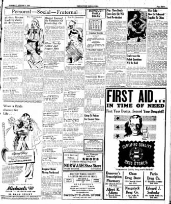 Naugatuck Daily News from Naugatuck, Connecticut on August 1, 1944 · Page 3