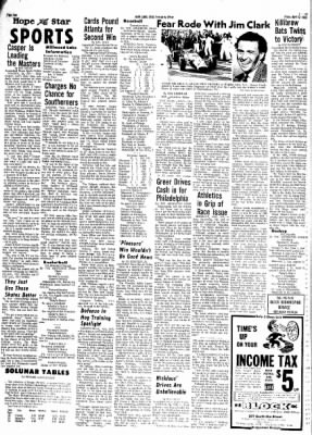 Hope Star from Hope, Arkansas on April 12, 1968 · Page 3