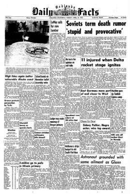 Redlands Daily Facts from Redlands, California on April 14, 1964 · Page 1