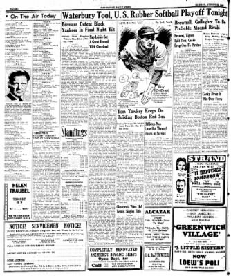 Naugatuck Daily News from Naugatuck, Connecticut on August 28, 1944 · Page 6