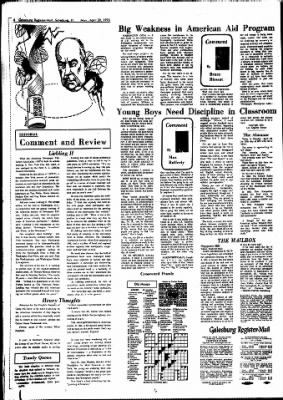 Galesburg Register-Mail from Galesburg, Illinois on April 30, 1973 · Page 4