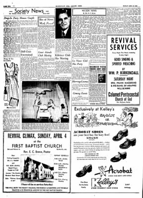 The Courier News from Blytheville, Arkansas on April 2, 1954 · Page 2