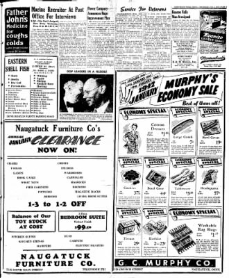 Naugatuck Daily News from Naugatuck, Connecticut on January 9, 1947 · Page 5